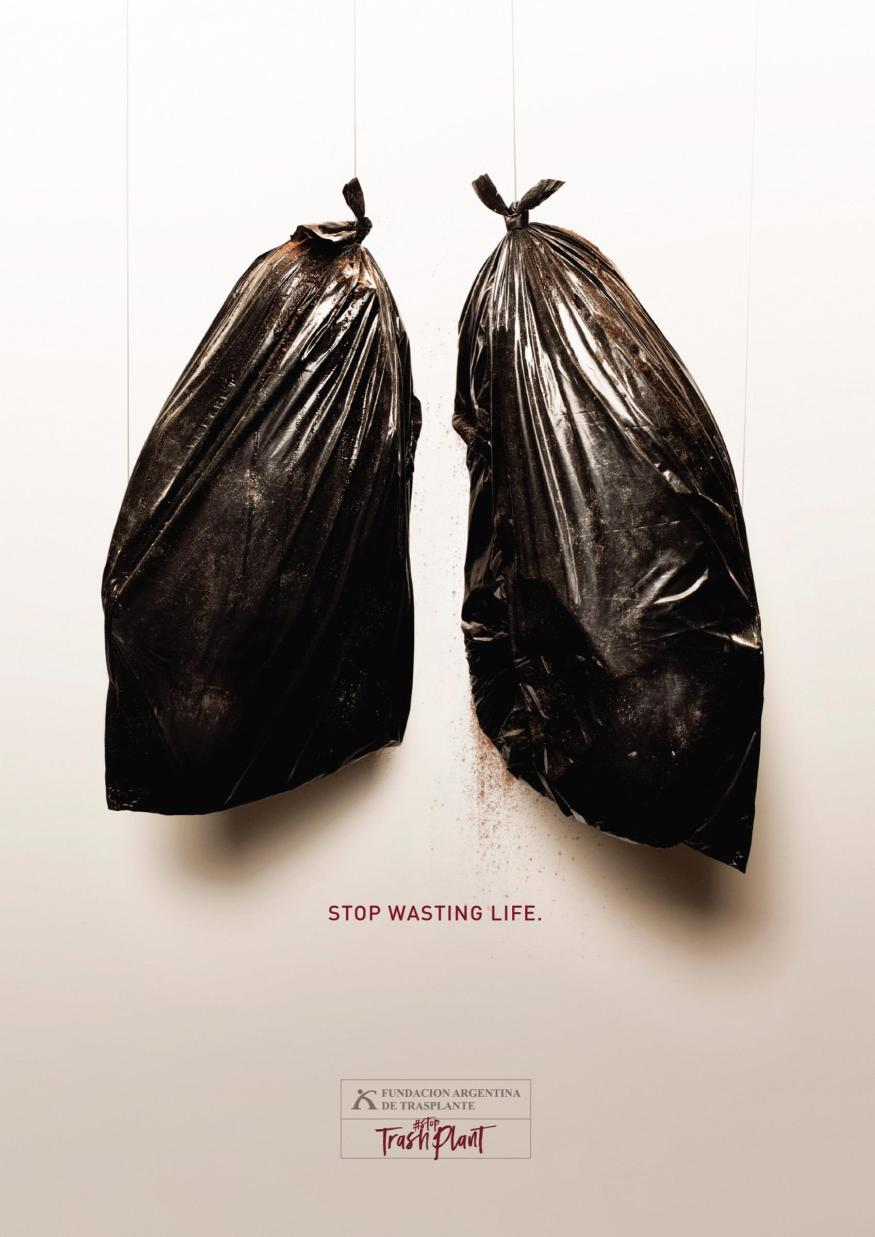 StopTrashPlant- awarness campaign to empower people become organ donars