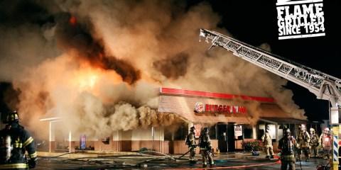 Flame Grilled Burger king