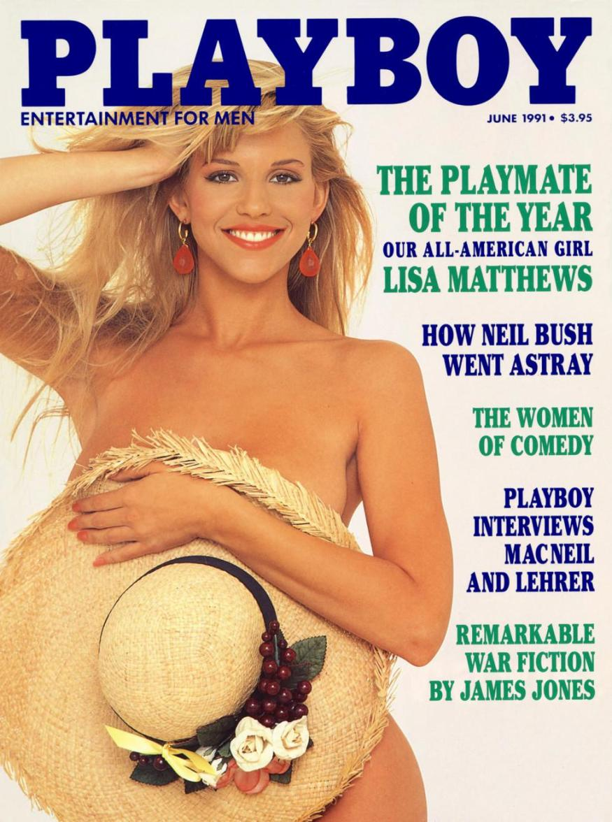 Lisa Matthews Playboy magazine