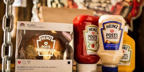 Heinz Irresistible Posts campaign