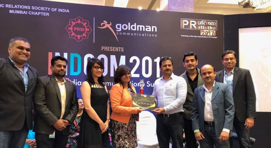 KPIT wins Best Event-led Communication Campaign Award at the Indian Communications Summit 2017