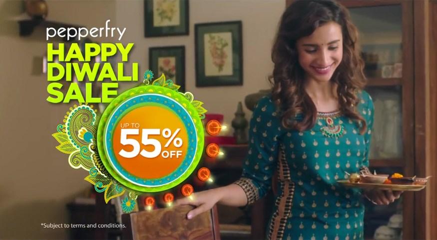 Pepperfry's Diwali campaign | Diwali sale