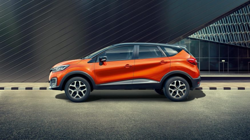 Renault CAPTUR design