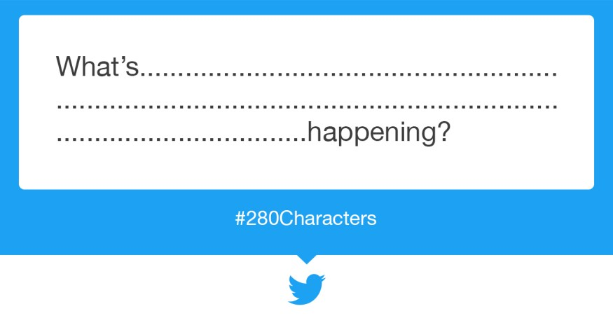 Twitter 280 Characters limit