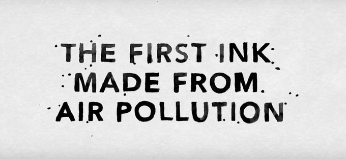 Air-Ink: The world's first ink made out of air pollution – Campaigns of the World