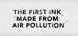 AIR-INK from air pollution | MIT Media Lab | Graviky Labs