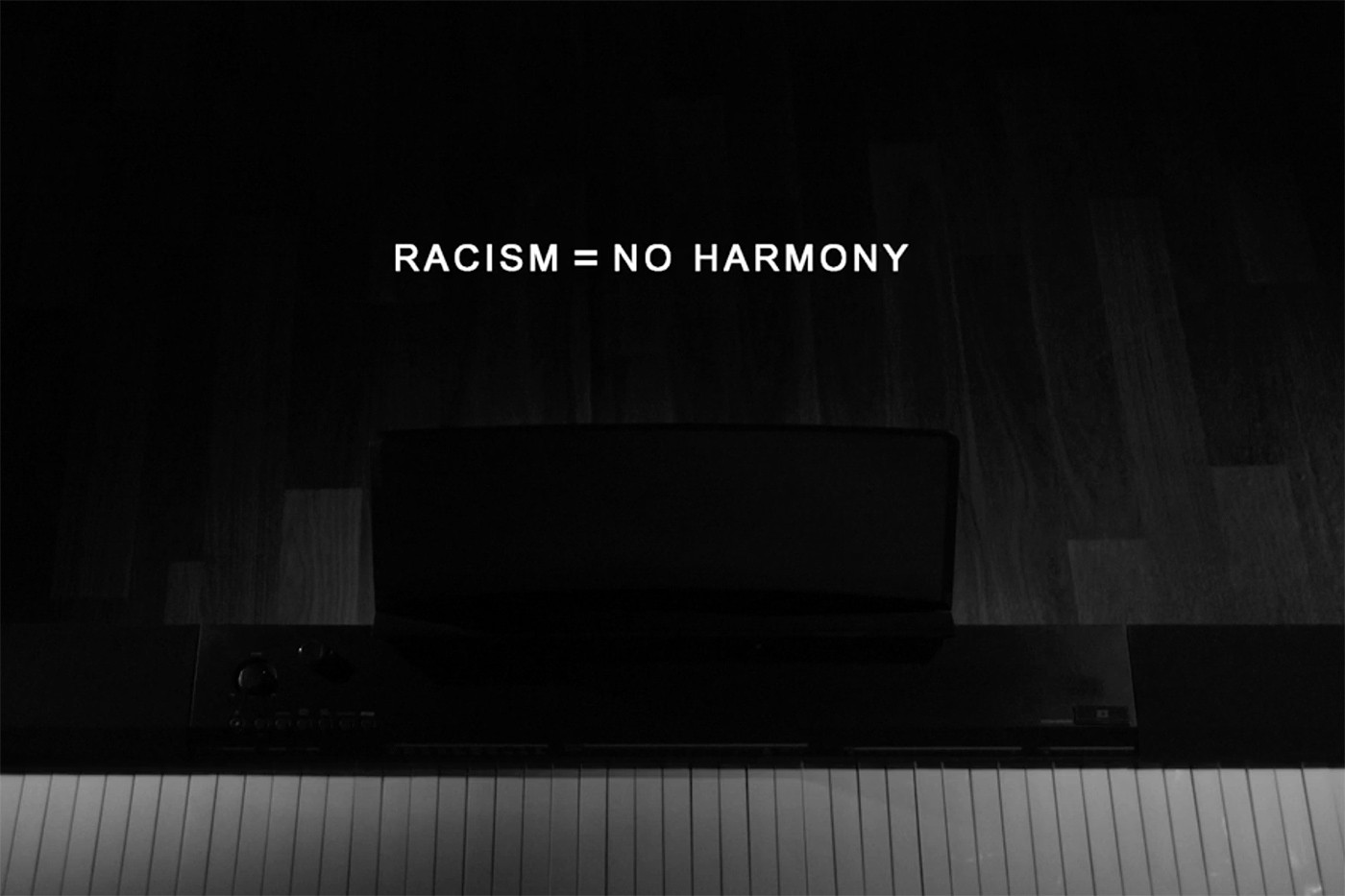 This Racist Cover Created on a Racist Keyboard Conveys a meaningful message against Racism