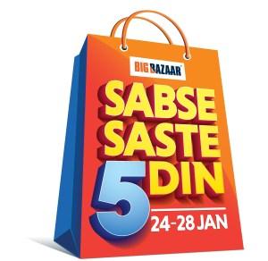 Big Bazaar Sabse Saste 5 Din | Big Bazaar | Shopping Festival | 24-hour FB Live streaming