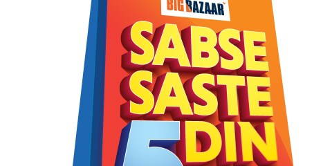 Big Bazaar Sabse Saste 5 Din | Big Bazaar | Shopping Festival | 24-hour FB Live streaming