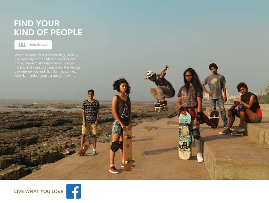 Facebook campaign | Live What You Love
