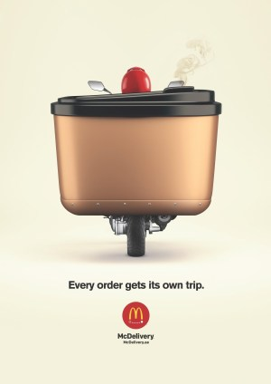 McDonald's Every Order Get It's Own Trip