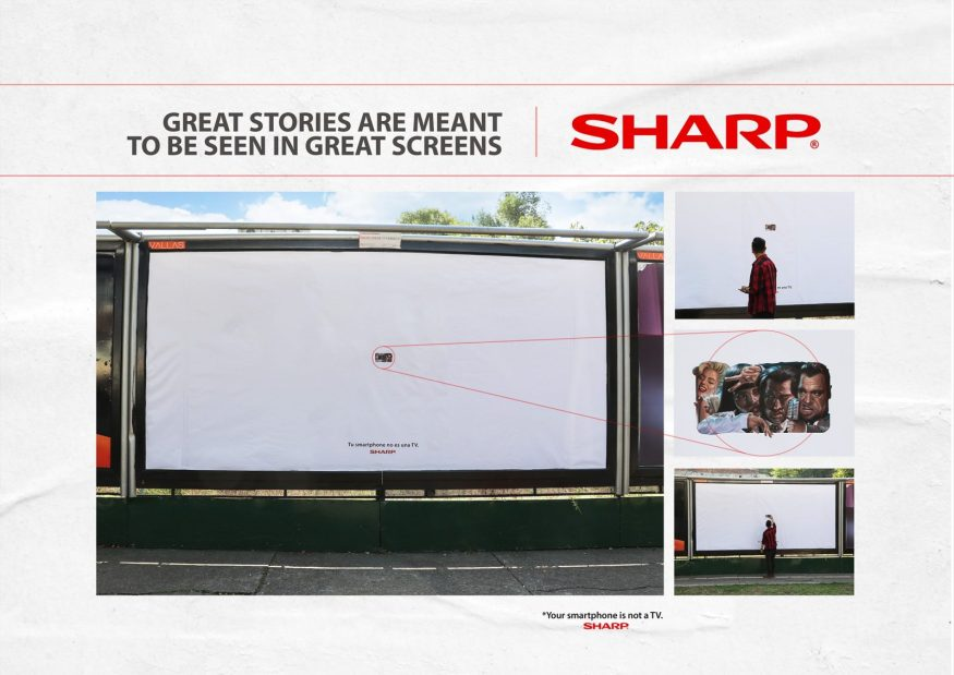 2018 Cannes Lions | As Not Seen On TV | SHARP Campaign