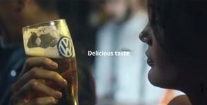 Volkswagen VW beer