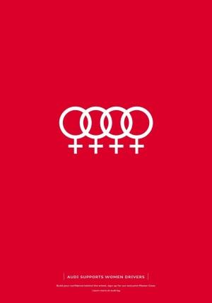 Audi Supports Women Drivers
