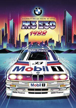 BMW Celebrating 60 Years of British Touring Car Championship | Print Advertising