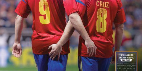 FIFA World Cup | Amnesty International Illegal Celebration