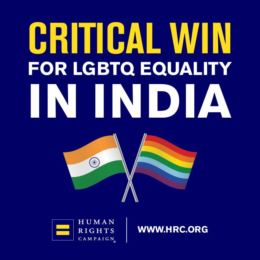 HRC - critical win Section 377 | LGBTQ