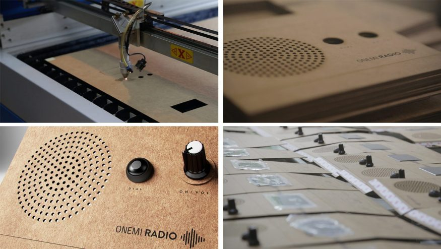 ONEMI Radio - An emergency radio receiver with photovoltaic cells