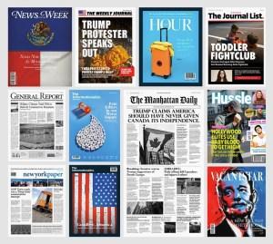 Columbia Journalism Review - Fake Newsstand | Fake News
