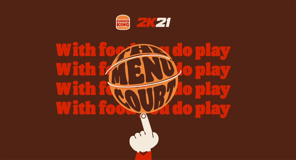 Burger King presents – The Menu Court, the first basketball court you can literally eat