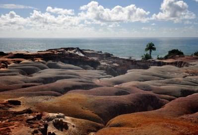 Paisagem costeira da Terra Indígena, 2012, por Daniela Alarcon.
