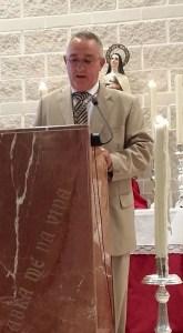 Juan Sánchez Aranda, Pregonero de la Virgen del Carmen de 2015