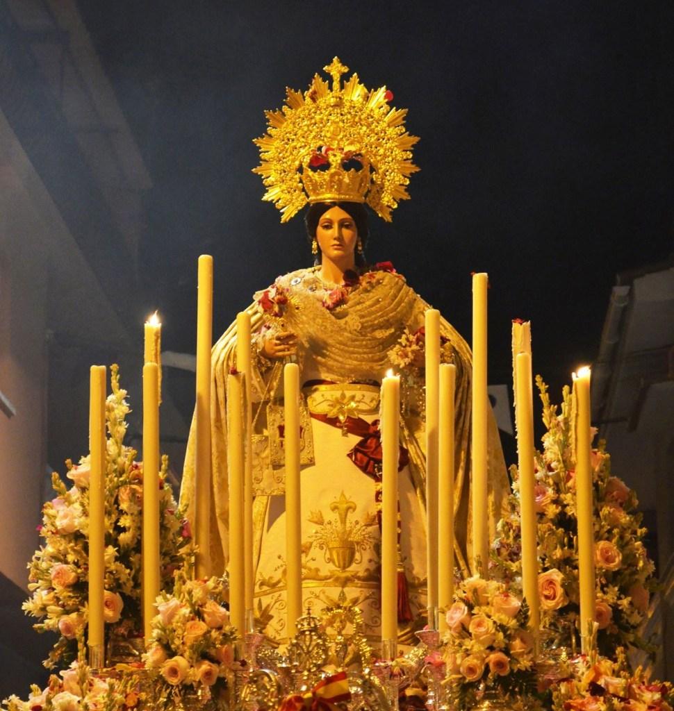 El Tarajal se prepara para procesionar a La Virgen de Las Mercedes