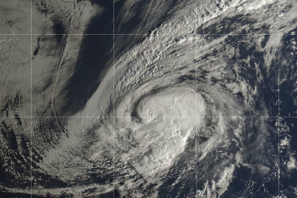 Última hora sobre el huracán Leslie