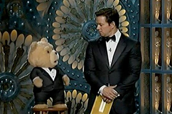 A staunchly Catholic Mark Whalberg reacts to MacFarlane's anti-semetic Ted. Marky Mark - you shouldda known better