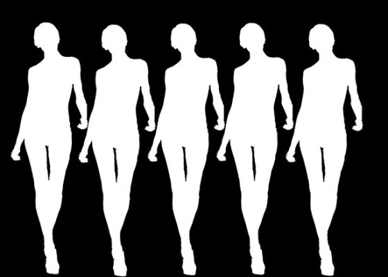 walking-women-silhouettes