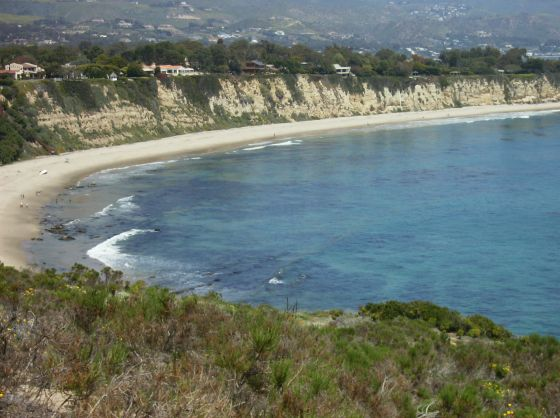 Hiking from Point Dume to Paradise Cove