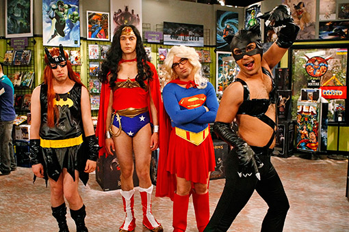 The Big Bang Theory - always there when you need them