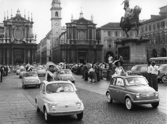 In this shot, the 60's were nearly upon Italy
