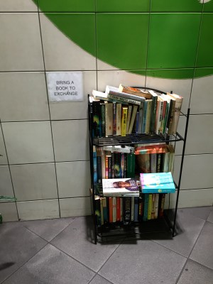 books at oval station