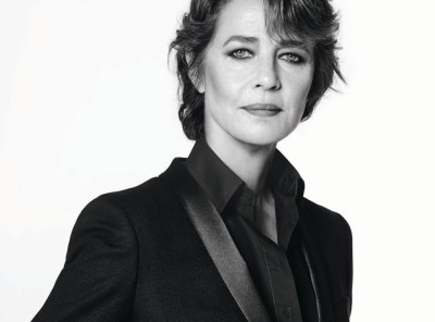Charlotte Rampling for Nars - lovely but very, very retouched