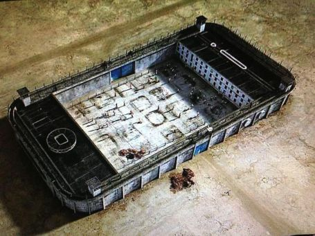 Banksy's take on the new prison.