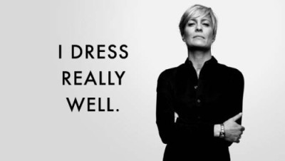 claire underwood dress well