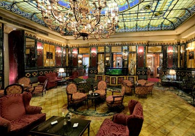 The bar at the Principe - I heard it has been redecorated ... sad.
