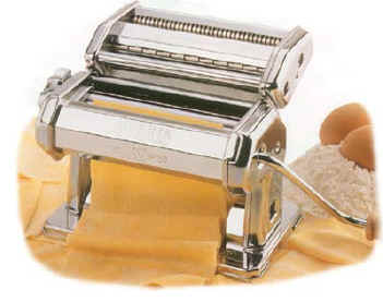 Most pasta makers for home use look like this