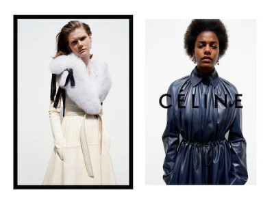 Celine is opting for a toned down beauty