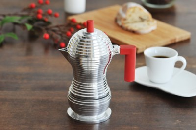 Pulcina coffee maker by Alessi ($80.00)
