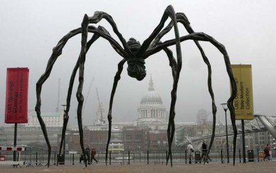 The Giant Spider outside the Tate in London