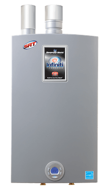 Campbell Cooling offers tankless water heaters