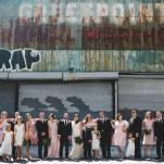 Greenpoint Loft Wedding Party