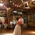 Green point Loft couple First Dance