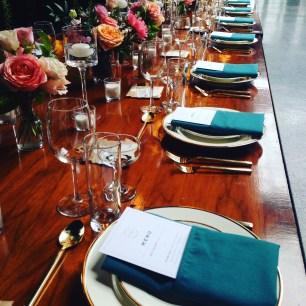 Tablescape at 501 Union