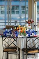 Chelsea Piers Reception Tablescape