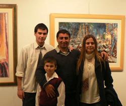 Atanur and Asuman Dogan and sons