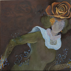"""""""Rose Hat"""" by Joan Goldfarb"""