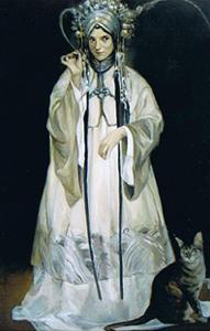 Beijing Opera painting - Jeffery Chong Wang